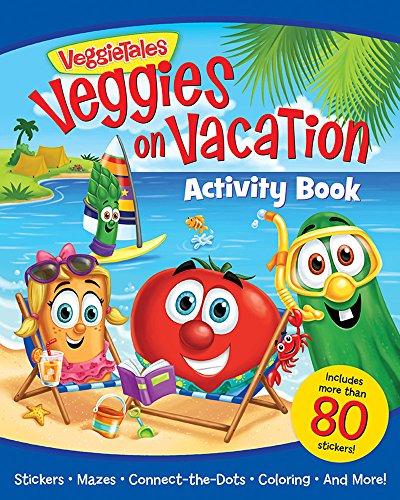 Veggies on Vacation Activity Book: Bostrom, Kathleen Long