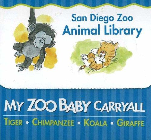 My Zoo Baby Carryall: Tiger, Chimpanzee, Koala, Giraffe: Ideals Publications