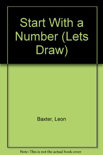 9780824982010: Start With a Number (Lets Draw)
