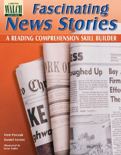 9780825101076: Fascinating News Stories: A Reading Comprehension Skill Builder