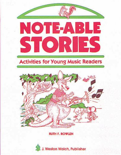 9780825112096: Note-able Stories: Activities for Young Music Readers