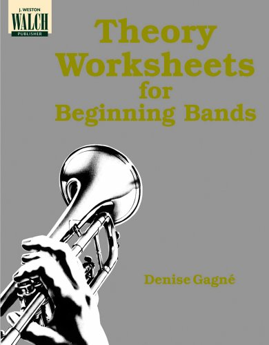 9780825113963: Theory Worksheets for Beginning Bands