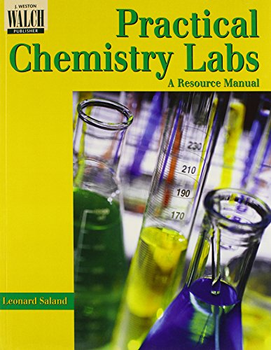 9780825115110: Practical Chemistry Labs: A Resource Manual