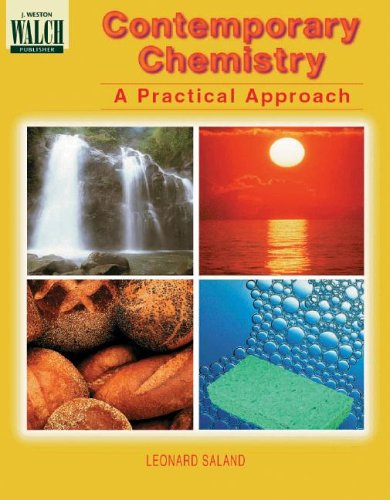 9780825117992: Contemporary Chemistry a Practical Approach