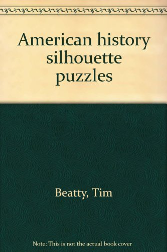 9780825125768: American history silhouette puzzles