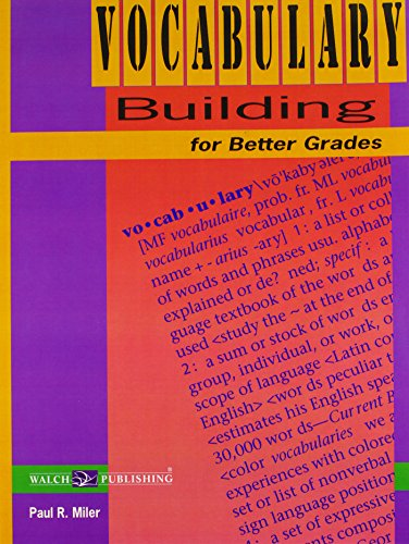 9780825125829: Vocabulary Building for Better Grades (Student Edition)