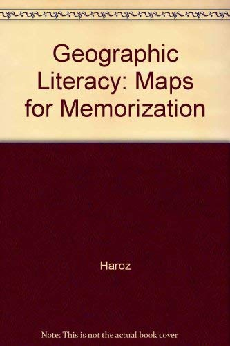 9780825125881: Geographic Literacy: Maps for Memorization