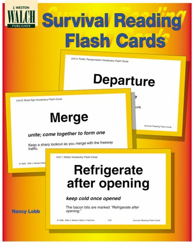 9780825126130: Survival Reading Flash Cards
