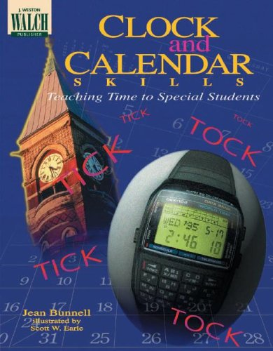 9780825128110: Clock and Calendar Skills: Teaching Time to Special Students