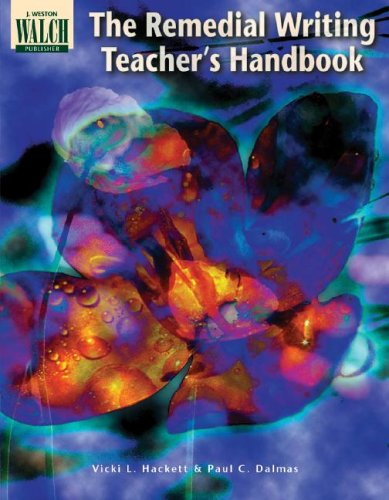 9780825128448: Remedial Writing Teacher's Handbook
