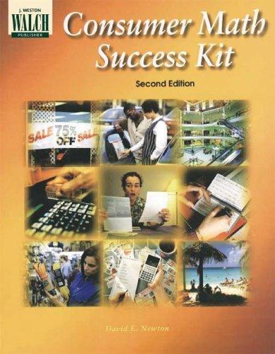 9780825128523: Consumer Math Success Kit