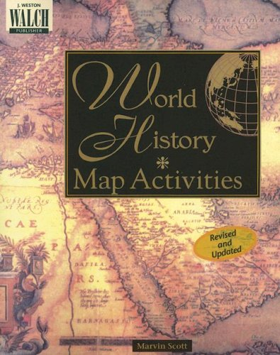 9780825128806: World History Map Activities