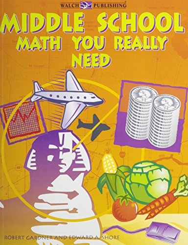 9780825132834: Middle School Math You Really Need