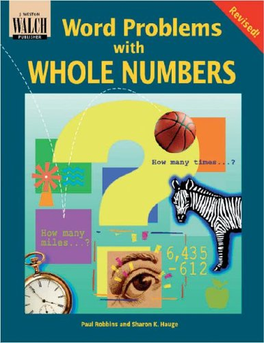 9780825137495: Word Problems With Whole Numbers