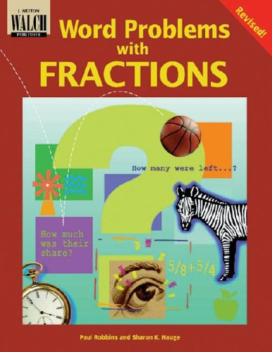 9780825137501: Word Problems With Fractions (Word Problems Series Ser)