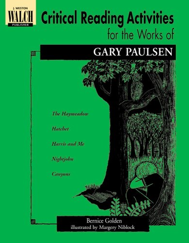 9780825138539: Critical Reading Activities for the Works of Gary Paulsen