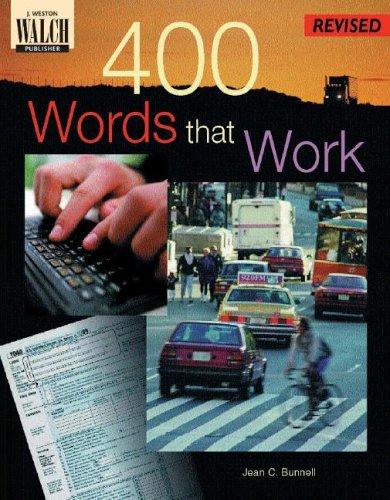 9780825138591: 400 Words That Work: A Life Skills Vocabulary Program (400 Words That Work Ser)