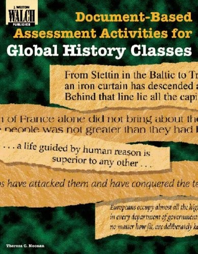 9780825138744: Document-Based Assessment Activities for Global History Classes (Document-Based Assessment Activities for History)