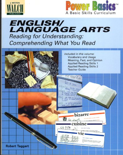 9780825141669: English / Language Arts: Reading for Understanding: Comprehending What You Read (Power Basics)