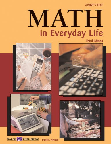 9780825142581: Math in Everyday Life Activity Book