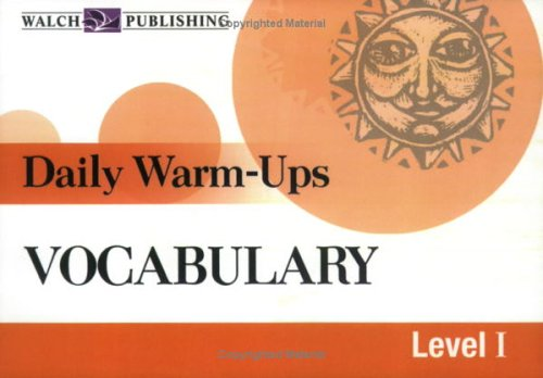 9780825143205: Daily Warm-Ups for Vocabulary (Daily Warm-Ups English/Language Arts)
