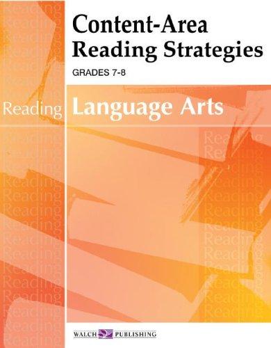 Content-Area Reading Strategies For Language Arts, Grades 7-8: Margaret Cleveland
