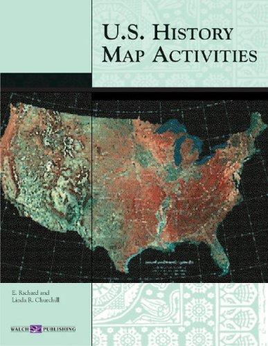 9780825143496: U.S. History Map Activities