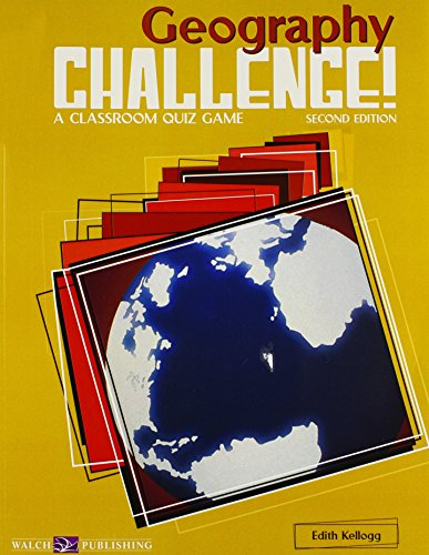 9780825143595: Geography Challenge