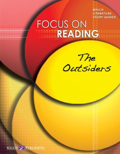 9780825144264: Focus On Reading: The Outsiders:grades 4-6