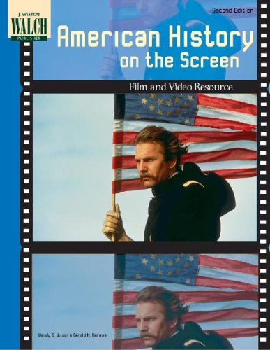9780825144516: American History on the Screen: A Teachers Resource Book on Film and Video