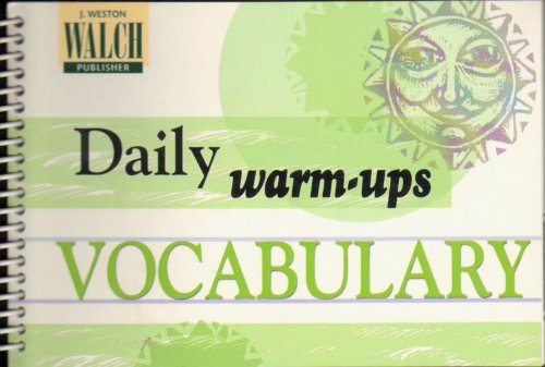 Daily warm-ups VOCABULARY: anonymous