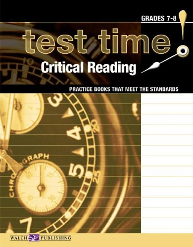 Test Time! Practice Books That Meet The Standards: Critical Reading (Test Time! Practice Books That...