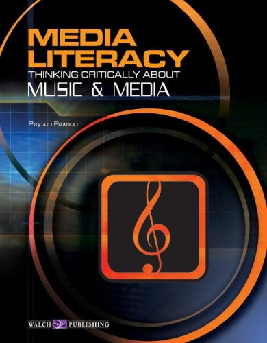 9780825144875: Media Literacy: Thinking Critically About Music & Media