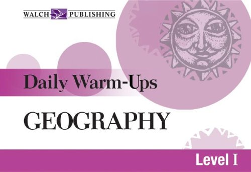 9780825144905: Daily Warm-Ups for Geography (Daily Warm-Ups Social Studies)