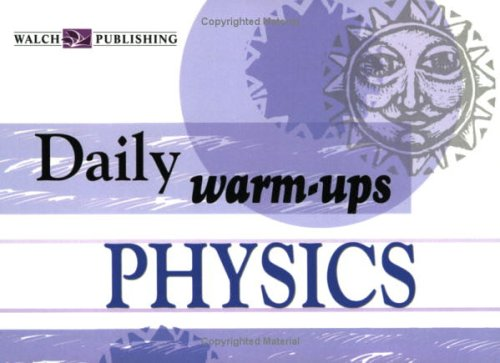 9780825146237: Daily Warm-Ups Physics