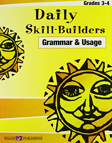 9780825147821: Daily Skill-builders For Grammar & Usage: Grades 3-4 (Daily Skill-Builders English/Language Arts (3-4)) (Daily Skill-Builders English/Language Artsies (3-4))