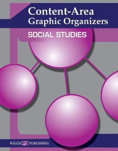 9780825150074: Content-Area Graphic Organizers: Social Studies