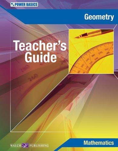 9780825156014: Power Basics Geometry Teacher's Guide