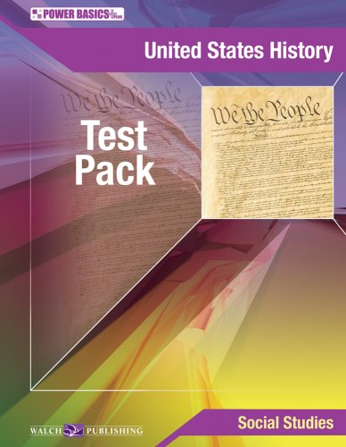 9780825156441: Power Basics United States History: Test Pack