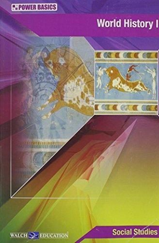 9780825156793: World History I: Power Basics (Student Text)
