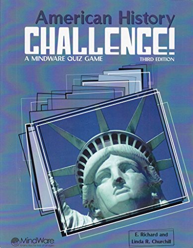 9780825158735: American History Challenge: A MindWare Quiz Game Third Editoin