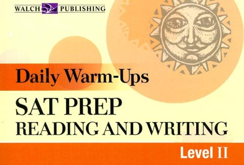 9780825158773: Daily Warm-Ups: SAT Prep: Reading and Writing: Level II (Daily Warm-Ups)