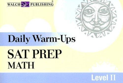 9780825158919: Daily Warm-ups: Sat Prep: Math Level II (Daily Warm-Ups)