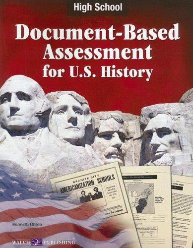 9780825159039: Document-Based Assessment for U.S. History