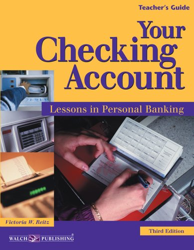 9780825159145: Your Checking Account: Lessons in Personal Banking
