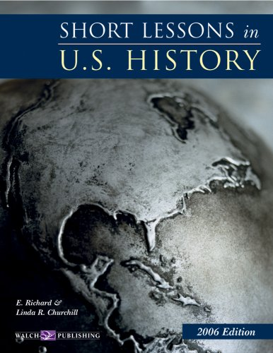 9780825159572 Short Lessons in US History Teachers Guide