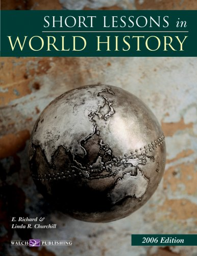 Short Lessons in World History: Teacher's Guide