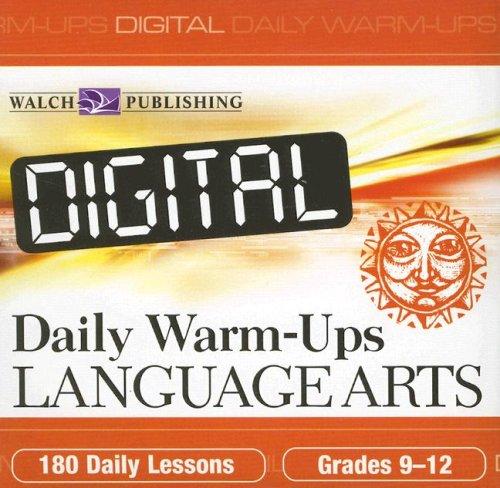 9780825159909: Digital Daily Warm-ups: Language Arts, Grades 9-12
