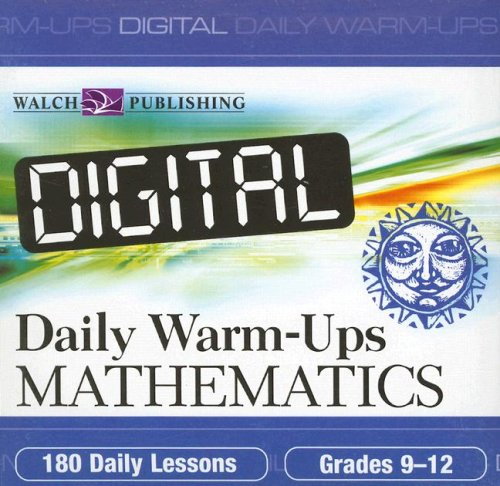 9780825159923: Mathematics: Grades 9-12 (Digital Daily Warm-Ups)