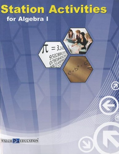 9780825162237: Station Activities for Algebra 1 NCTM